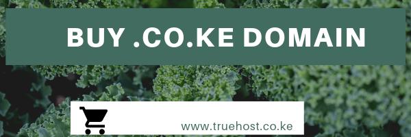 Buy .co.ke domain