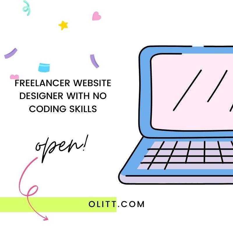 Freelancer Website Designer with no Coding