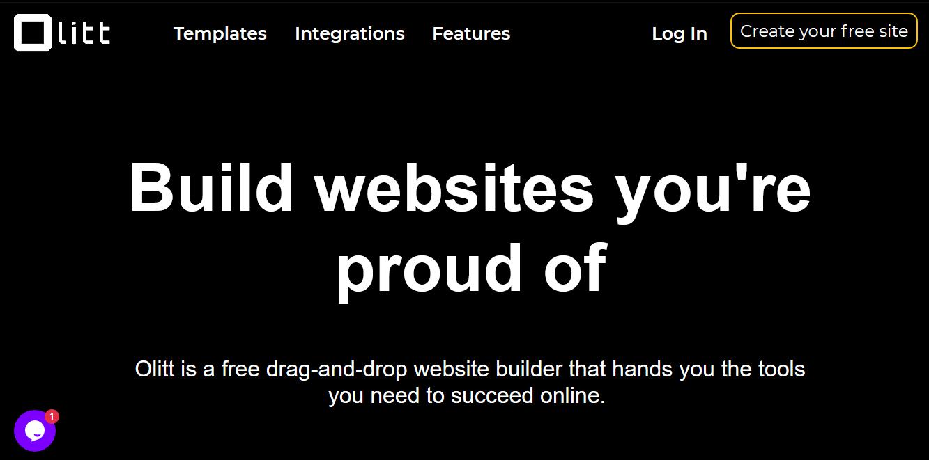 OLITT site builder